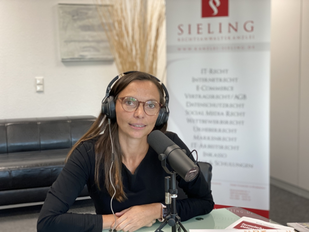 Carola Sieling im c't Podcast Auslegungssache: Thema privacy shield