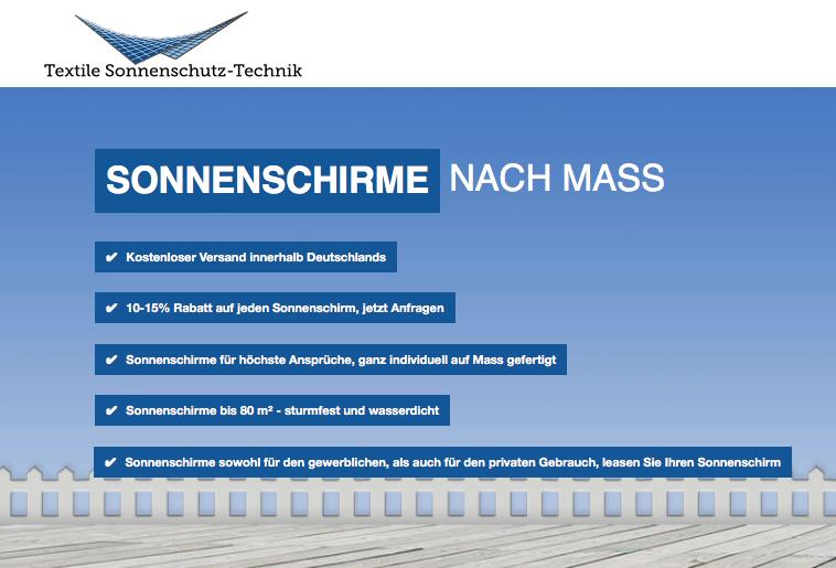 Zertifikat http://www.sonnenschirme-nach-mass.de
